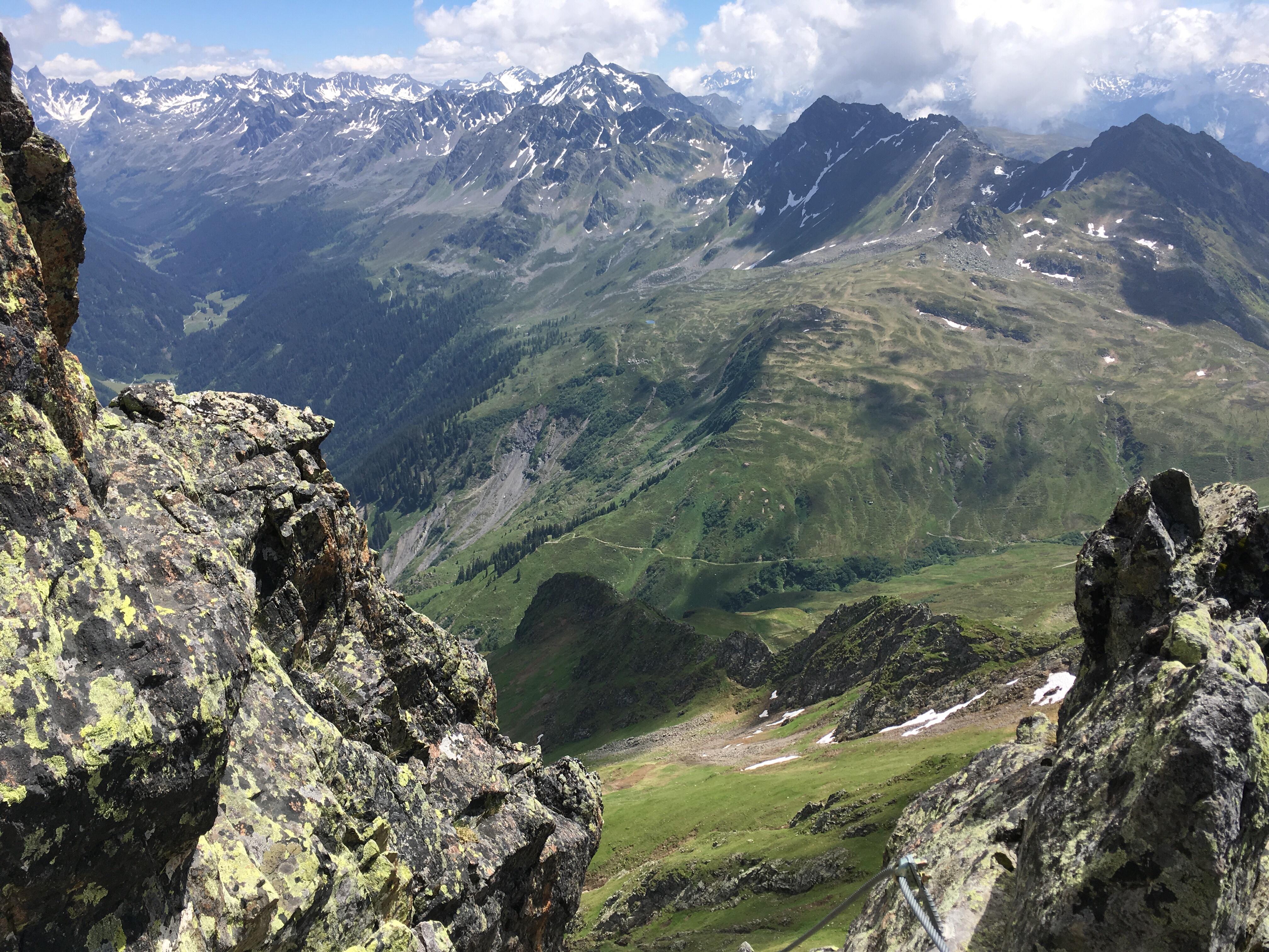 Klettersteig Hochjoch : Silvretta montafon seilbrücke klettersteig hochjoch facebook
